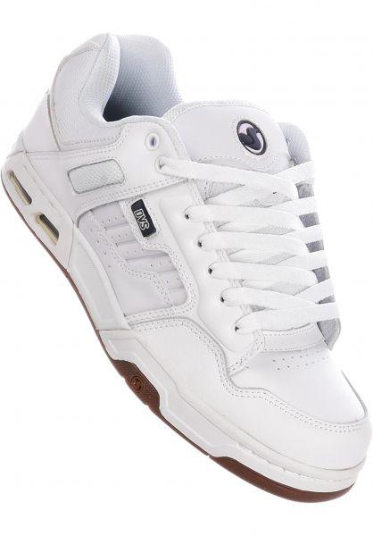 DVS Alle Schuhe Enduro Heir white-gum vorderansicht 0602491