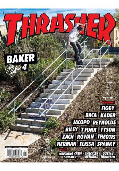 Thrasher Verschiedenes Magazine Issues 2020 January vorderansicht 0972485