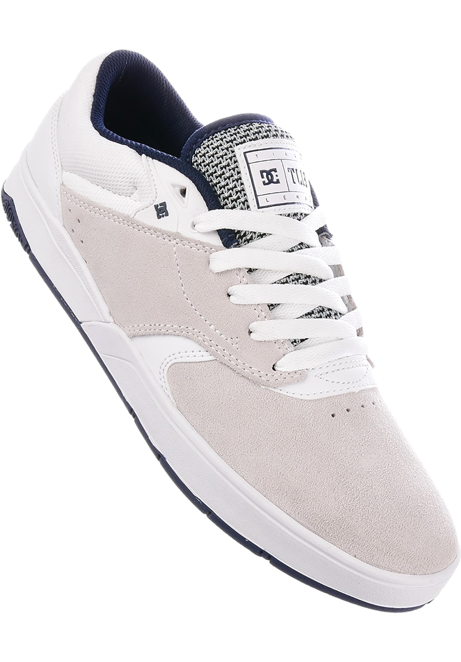Tiago S DC Shoes All Shoes in white-navy for Men  e434e7773
