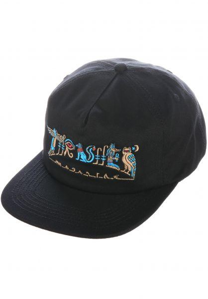 Thrasher Caps Hieroglyphic black vorderansicht 0566614