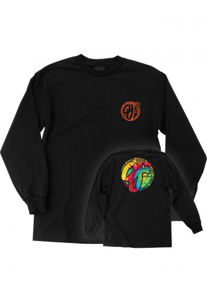 OJ Wheels Longsleeves Trippy Juice black vorderansicht 0383904