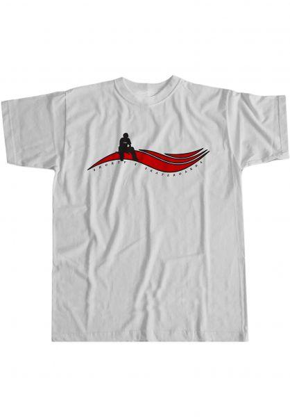 Shortys T-Shirts Muska Wave white vorderansicht 0323887
