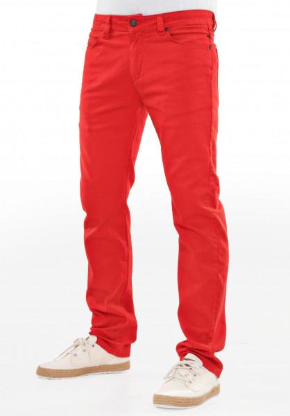 Reell Jeans Skin coral-red Vorderansicht