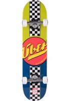 ÿBER Skateboard komplett Fast Back blue-green Vorderansicht
