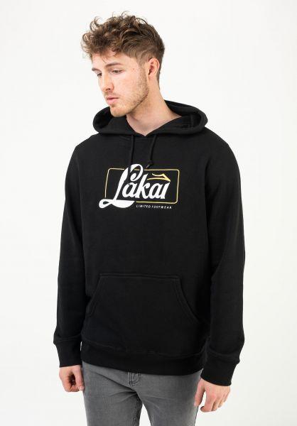 Lakai Hoodies Transporter black vorderansicht 0446008