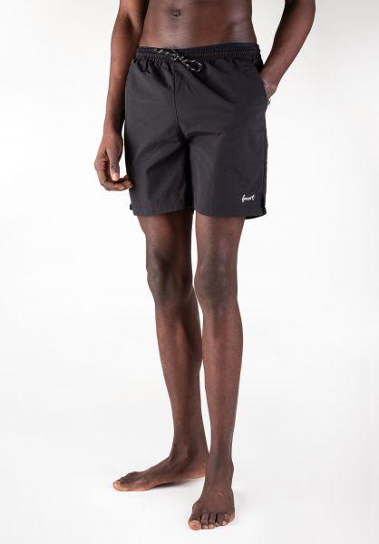 Forvert Beachwear Rinca black vorderansicht 0551906