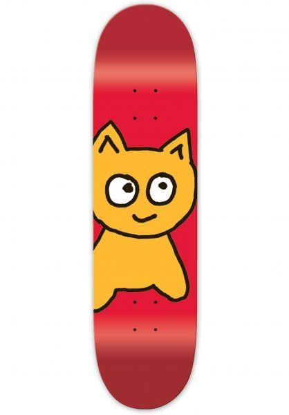 Meow Skateboards Skateboard Decks Big Cat red Vorderansicht
