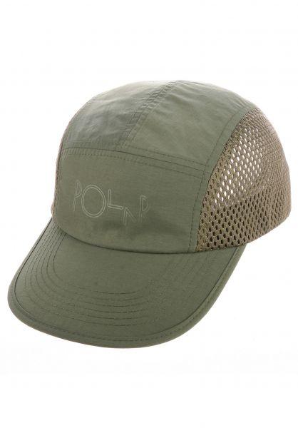 Polar Skate Co Caps Mesh Speed olive vorderansicht 0567071
