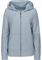 TITUS-Zip-Hoodies-Abby-greyish-blue-Vorderansicht