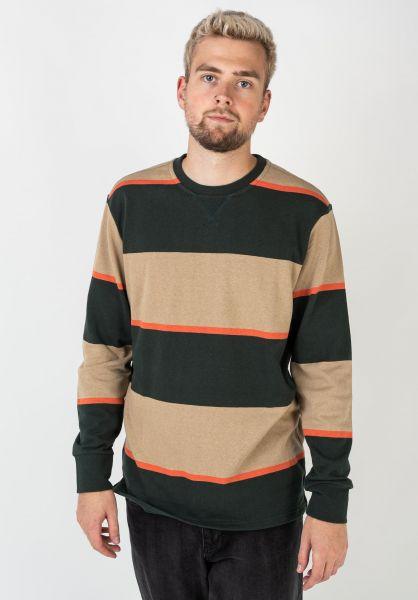 Roark Sweatshirts und Pullover Bering anthrazit-beige-orangestripes vorderansicht 0423028