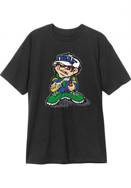 New-Deal T-Shirts Molotov Kid Price Point black vorderansicht 0322080