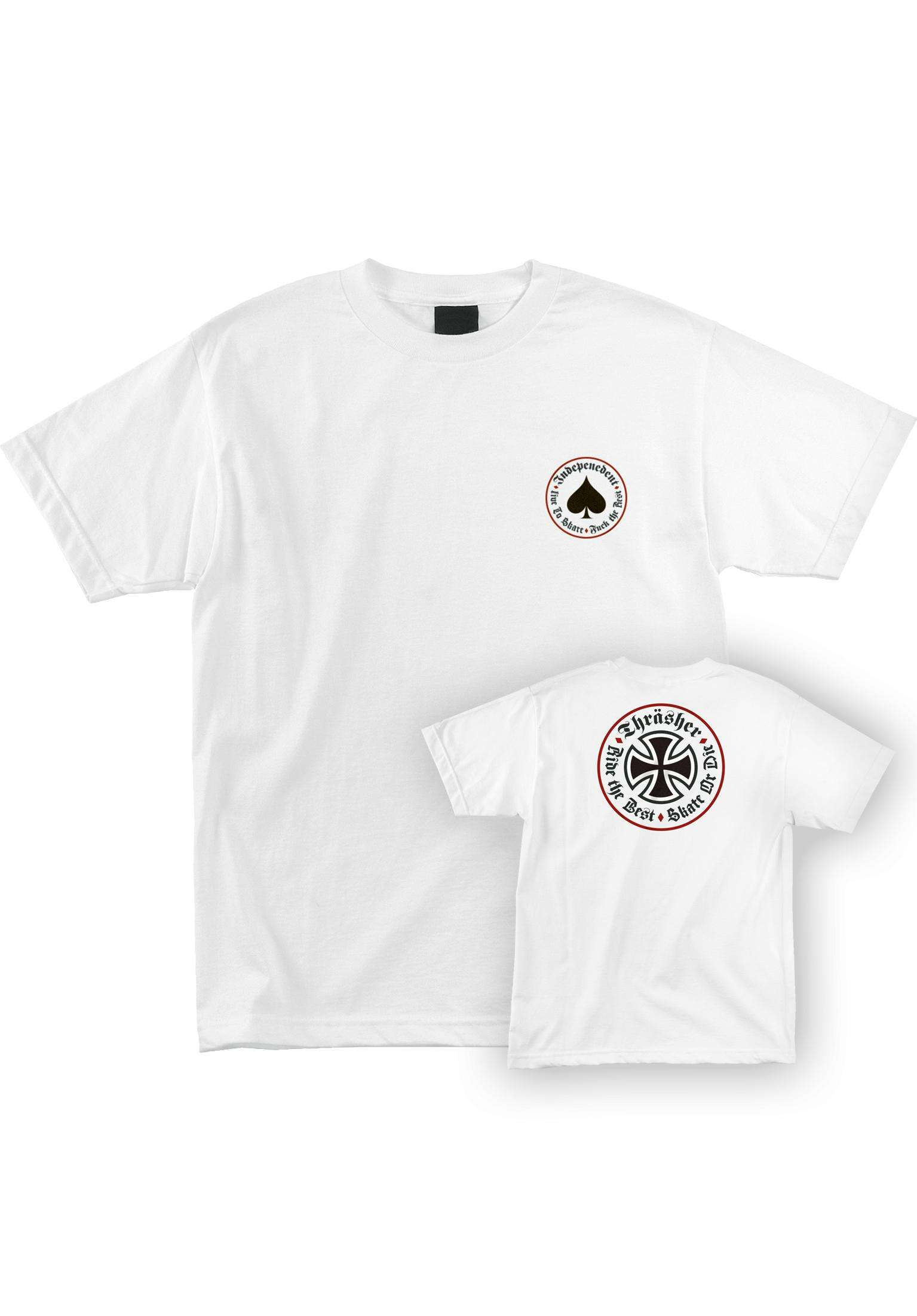 17fef7d8f67c Thrasher Oath S S Independent Independent T-Shirts in white für Herren