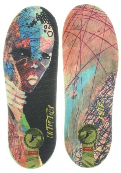 Footprint Insoles Einlegesohlen King Foam Orthotic Elite Paul Hart Early Worm multicolored vorderansicht 0249155