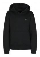 TITUS-Hoodies-Uni-Hood-Kids-black-Vorderansicht