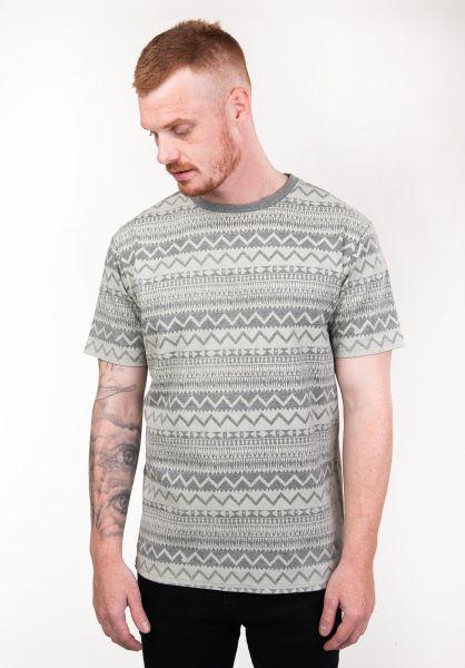 TITUS T-Shirts Ethno AO greenmottled vorderansicht 0397501