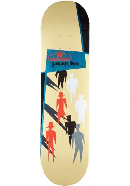 Stereo Skateboard Decks Jason Lee Shadowgraph beige vorderansicht 0117728