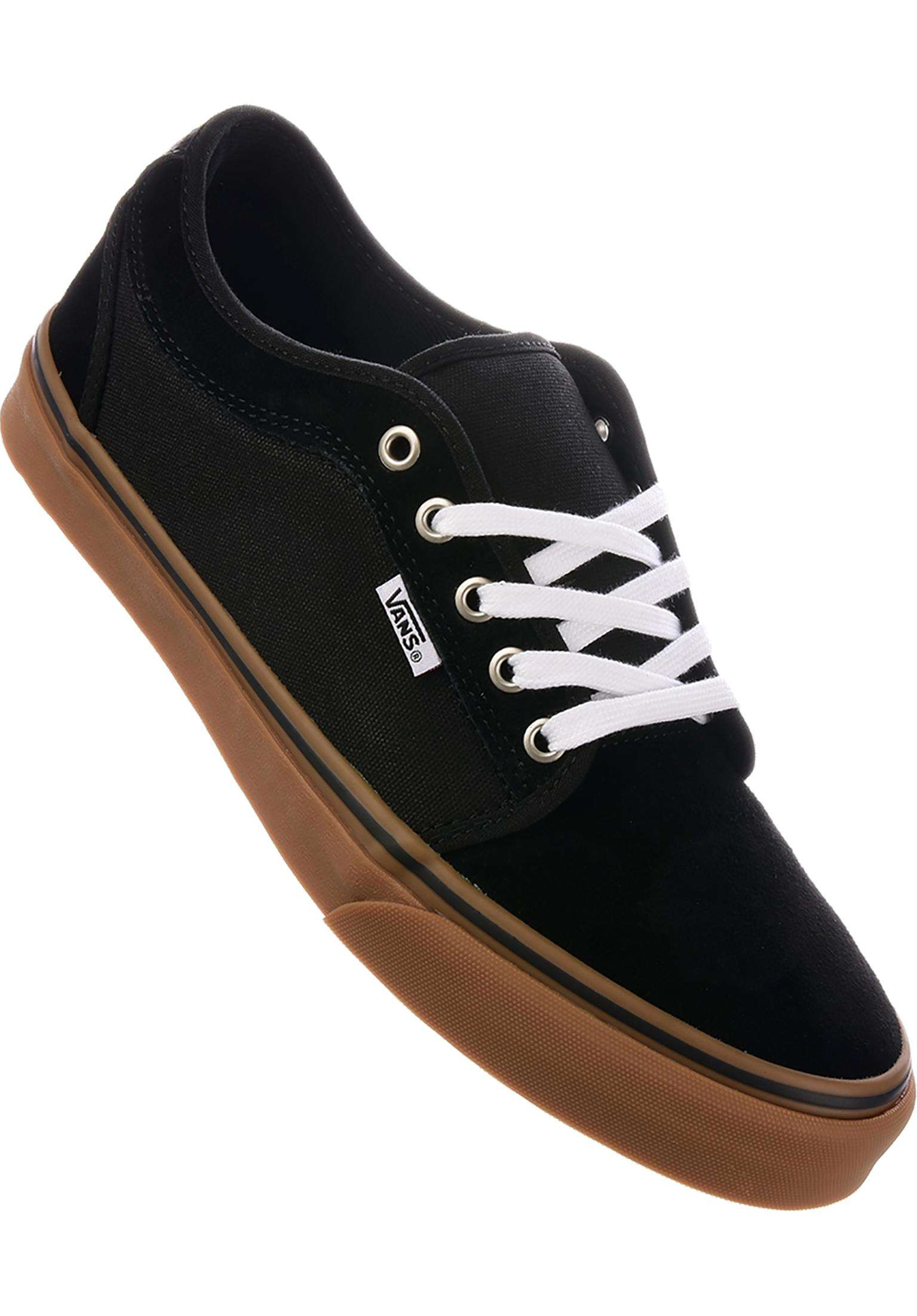 92c5665349 Chukka Low Pro Vans All Shoes in black-black-gum for Men