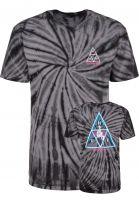 HUF T-Shirts HUF x Sorayama Wash black Vorderansicht