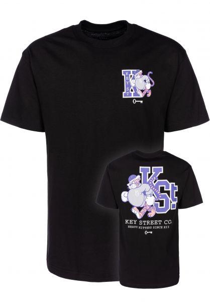 Key Street T-Shirts Mascot black vorderansicht 0399521