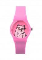 Rip N Dip Uhren Lord Nermal pink Vorderansicht