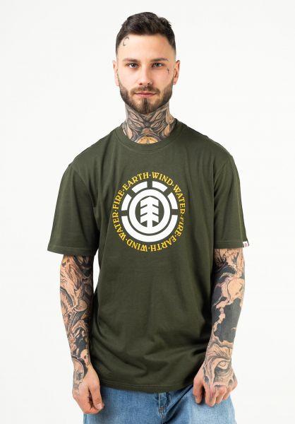 Element T-Shirts Seal forestnight vorderansicht 0372580