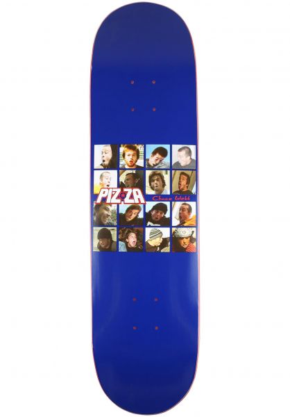 Pizza Skateboards Skateboard Decks Webb Yum41 blue vorderansicht 0263713