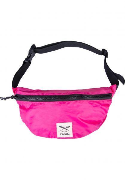 iriedaily Hip-Bags Gridstop pink vorderansicht 0169046