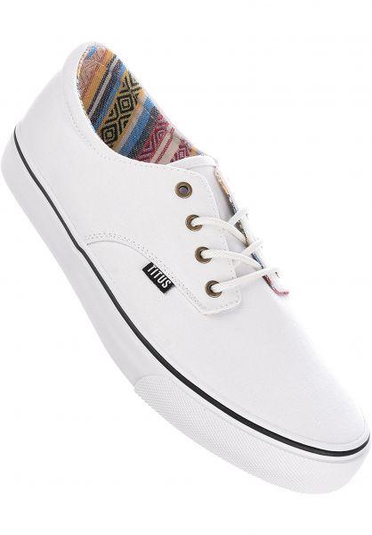 TITUS Alle Schuhe Clubman white-multi-white vorderansicht 0604300