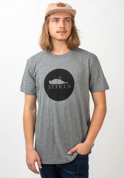Atticus T-Shirts Circle graphiteheather vorderansicht 0362223