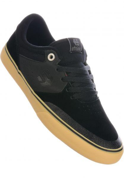 etnies Alle Schuhe Marana Vulc black-gum-silver vorderansicht 0603537