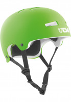 TSG Helme Evolution Solid Colors satin lime green-white EPS Vorderansicht