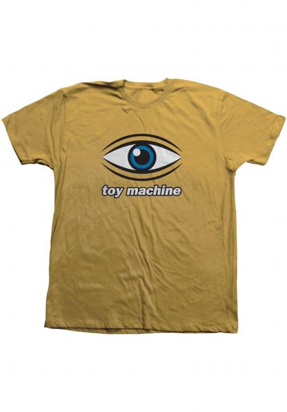 Toy-Machine T-Shirts Eye ginger vorderansicht 0322053
