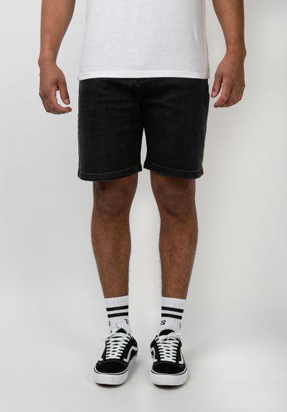 TITUS Jeansshorts Frerik black-bleached vorderansicht 0278008