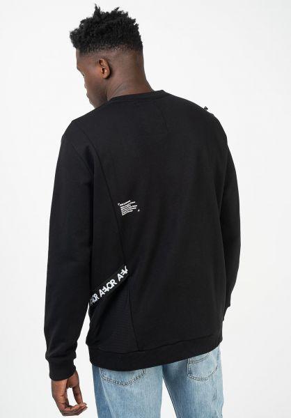 AEVOR Sweatshirts und Pullover Pocket Sweater black vorderansicht 0422995