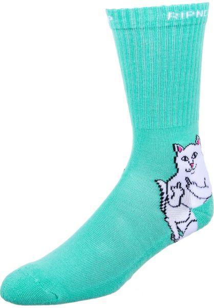 aa33476f40 Rip N Dip Socken Lord Nermal mint vorderansicht 0631009