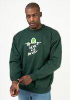 thrasher-sweatshirts-und-pullover-gonz-sad-logo-forestgreen-vorderansicht-0423048