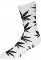 HUF-Socken-Plantlife-Crew-Sock-white-black-Vorderansicht