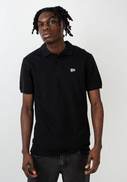 TITUS Polo-Shirts Script Polo black vorderansicht 0138396