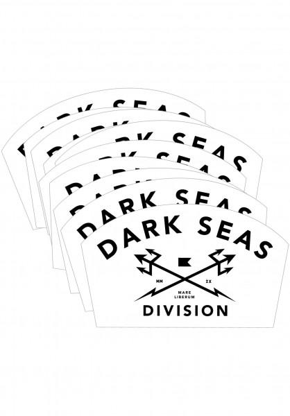 Dark Seas Verschiedenes Headmaster Sticker Large 25er white Vorderansicht