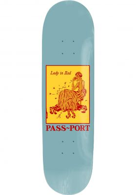 Passport Skateboards Lady In Red