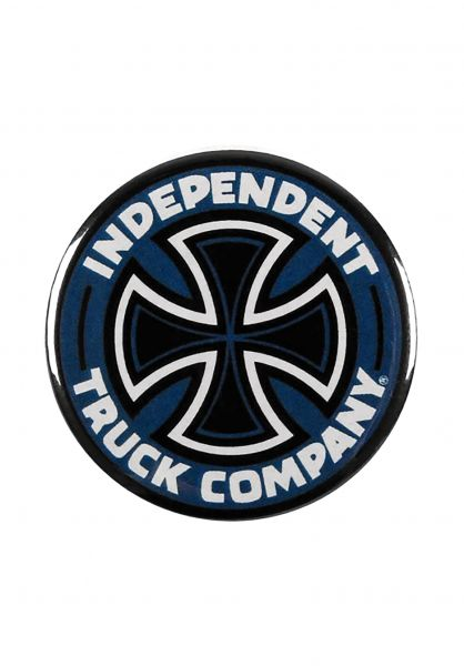 Independent Verschiedenes Colored Truck Co Pin blue Vorderansicht