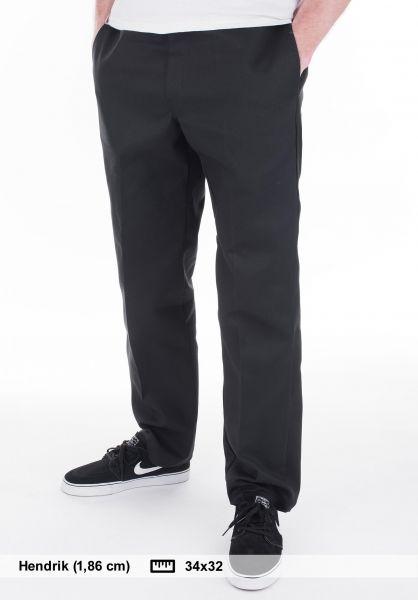 Dickies Chinos und Stoffhosen Original 874 Work Pant black vorderansicht 0054860