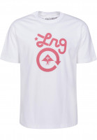 LRG T-Shirts Cycle Logo white Vorderansicht