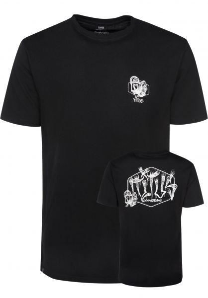 TITUS T-Shirts Regensburg - Tag black Vorderansicht