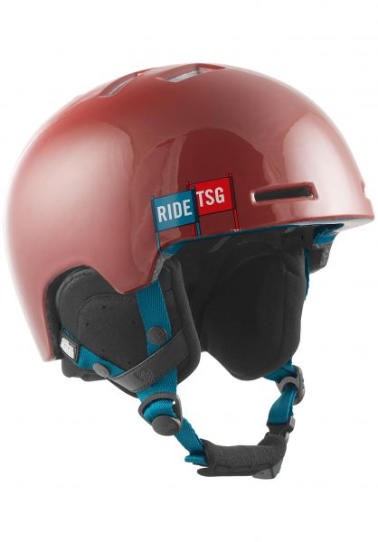 TSG Snowboardhelme Arctic Nipper Maxi Graphic Design heat vorderansicht 0223009