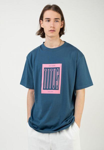 TITUS T-Shirts Benja stellar vorderansicht 0321919