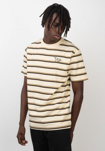 TITUS T-Shirts Archie black-almodbuff-safari vorderansicht 0399469