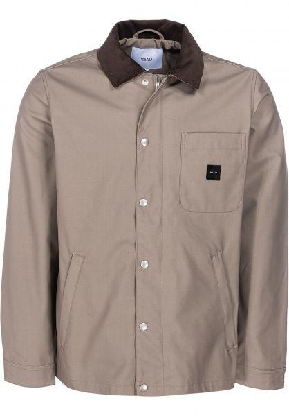 Makia Übergangsjacken Chore Jacket vintagekhaki vorderansicht 0504208