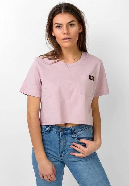 Dickies T-Shirts Ellenwood violet vorderansicht 0321083
