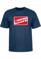 Shortys-T-Shirts-OG-Logo-navy-Vorderansicht